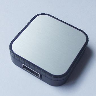 创意U盘外壳注塑加工案例U424 U盘定制开模