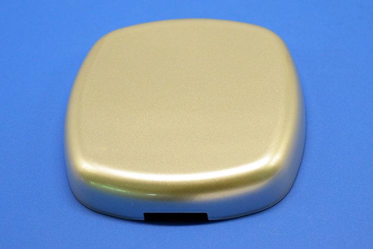 移动电源外壳喷油案例U566A 塑胶件上喷油