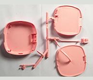 移动电源外壳注塑加工案例CZ566A 加工注塑厂家