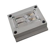 充电器模具加工案例CZ709 小型注塑模具