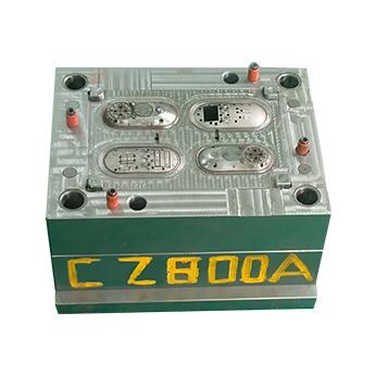 洁面刷注塑加工案例CZ800A abs加工注塑