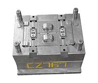 宠物用品模具加工案例CZ767 注塑模具的加工厂家