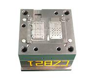 移动电源外壳模具加工案例CZ821 小批量塑料注塑模具
