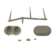 耳机注塑加工案例W306E 优质注塑生产厂家