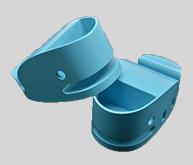 移动电源外壳注塑加工案例CZ571A 注塑小型加工厂