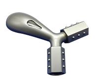 按摩仪外壳注塑加工案例M02 颈椎按摩仪塑料外壳加工