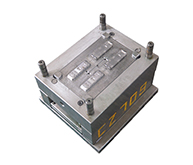 充电器模具加工案例CZ709 模具加工注塑