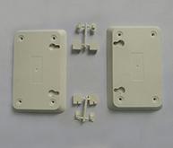 智能开关面板注塑加工案例CZ662A 产品成型注塑